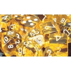 Transculent Yellow/White D6...