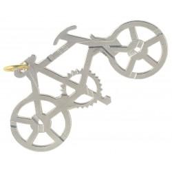 Cast Puzzle Silver Bike