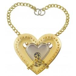 Cast Puzzle Silver Heart