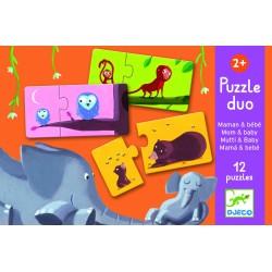 Puzzle Duo Mama en Baby