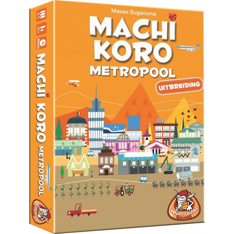 Machi Koro uitbreiding Metropool