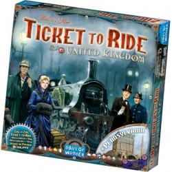 Ticket to Ride uitbreiding UK