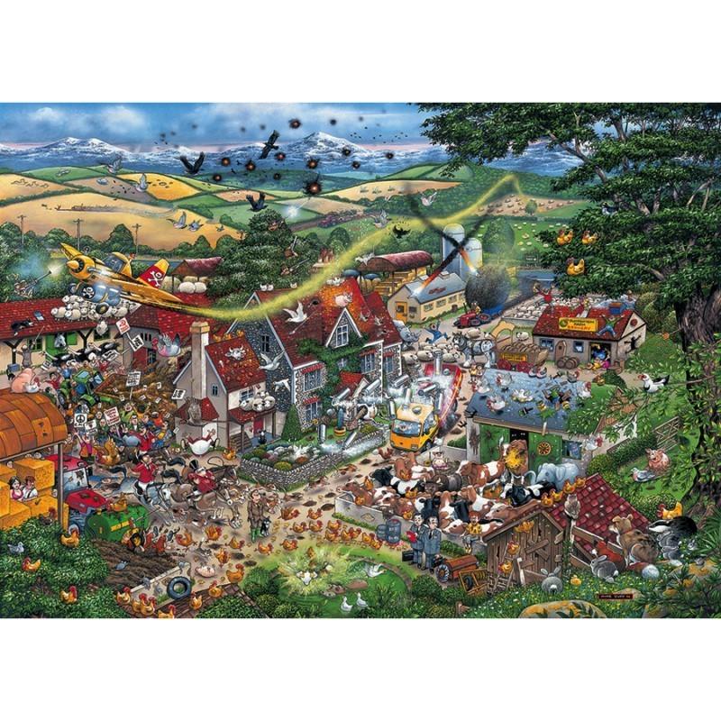 I Love the Farmyard (1000)