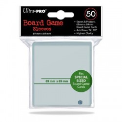 SLEEVES Board Game 69x69mm. 50 d10