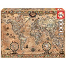 Antique World Map (1000)
