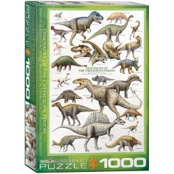 Dinosaurs of the Cretaceous...