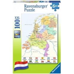 Nederlandkaart CITO (100 XXL)