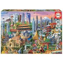Asia Landmarks (1500)