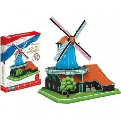 3D Hollandse Windmolen