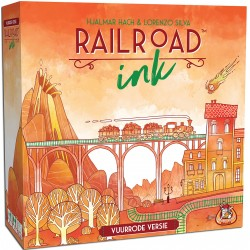Railroad Ink NL (rood)