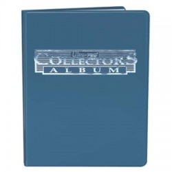 9-Pocket Portfolio: Collector's Album Blue